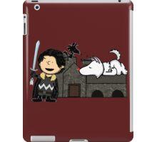 Jon Snow Peanuts iPad Case/Skin