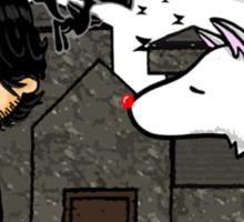 Jon Snow Peanuts Sticker