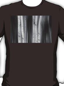 Aspen Tree Colonies Dreaming BW T-Shirt