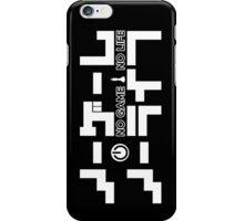 No Game No Life Logo ~ White iPhone Case/Skin