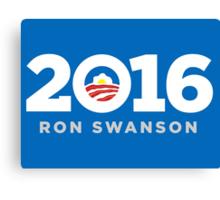 Ron Swanson 2016 shirt hoodie pillow mug iPhone 6 iPad case Canvas Print