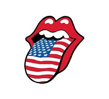 Rolling Stone USA Tongue by Cuud