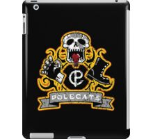 Full Throttle Polecats Distressed iPad Case/Skin