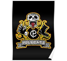 Full Throttle Polecats Distressed Poster