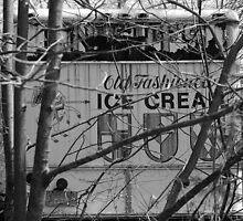 old ice cream truck by Roslyn Lunetta