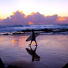 Dawn Surfer by John Karamanos