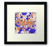 Go Gators! Framed Print