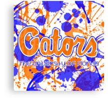 Go Gators! Canvas Print