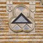 Triangular window by Mark Baldwyn