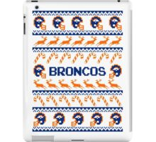 Broncos Football Christmas Ugly Sweater T Shirt iPad Case/Skin