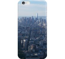 View from Empire State building New York  iPhone Case/Skin