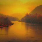 light in the fog by Robert Burns Miller