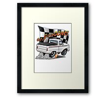 Git it GONE! Framed Print