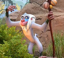 Disney Rafiki Lion King Disney Monkey  by notheothereye