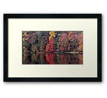 autumn in Lower Michigan #2 Framed Print