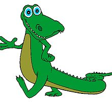 Cartoon Alligator by kwg2200
