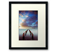 Sunset at Clifton Springs Framed Print