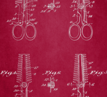Vintage Cutting Shears Patent 1920 Sticker