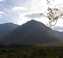 Peaks of Glencoe by Alex Graham
