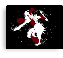 Shaco Ink White Canvas Print