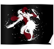 Shaco Ink White Poster
