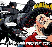 DKR - Batman vs Superman by averagejoeart