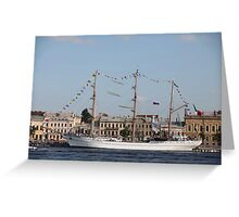 Mexican three-masted barque Cuauhtemoc Greeting Card