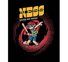 Ness Saves The Earth Photographic Print