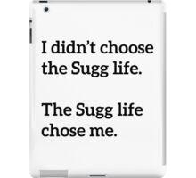 Sugg Life Black iPad Case/Skin
