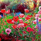 Poppy garden  by liboart