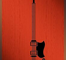 Guitar Art - 69 Gibson SG by PPWGD