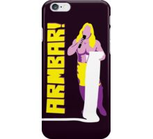 """Man of 1004 Armbars"" Wrestling Design iPhone Case/Skin"