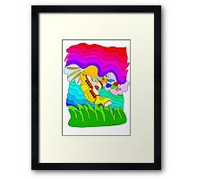 Yellow Submarine Trip Framed Print