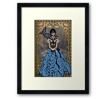 Steam Punk Raven Framed Print