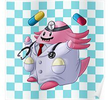Dr. Chansey! Poster