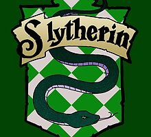Slytherin Crest by AriesNamarie