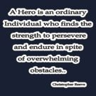 A hero is, Christopher Reeve  by Tammy Soulliere