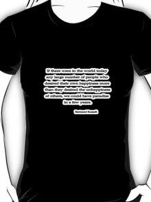 Desire, Bertrand Russell  T-Shirt