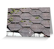 Asphalt Shingles © Greeting Card