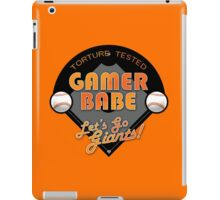 Torture Tested Gamer Babe 2 iPad Case/Skin