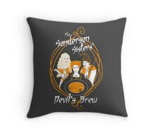 Devil's Brew Throw Pillow