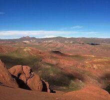 bolivian landscape by samantha jefferson