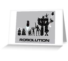 Robolution Greeting Card