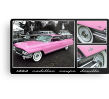 1963 Cadillac Coupe DeVille Metal Print
