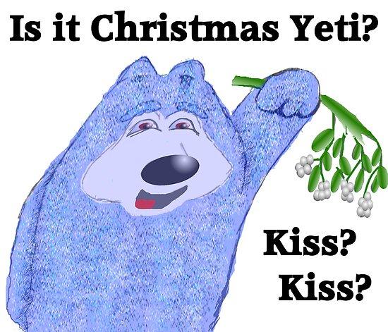Is it christmas yet Yeti? by EddyG