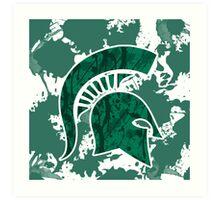 Michigan State Art Print