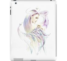 """THE VIRGO"" - Playing with Wings  - Protective Angel for Zodiac Sign iPad Case/Skin"
