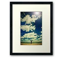 Wish you were here... Framed Print