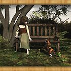 Encounter on the bench by Roberta Angiolani