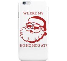 Pimp Santa iPhone Case/Skin